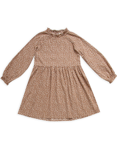 Mommy Caramel Ditsy Janie Dress
