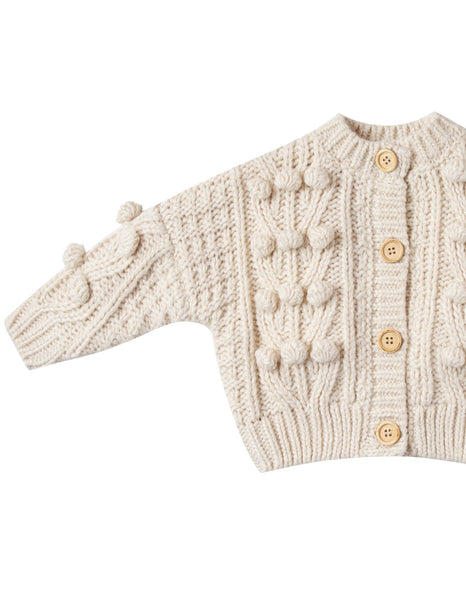 Bobble Cardigan **LAST ONE 6/7Y**