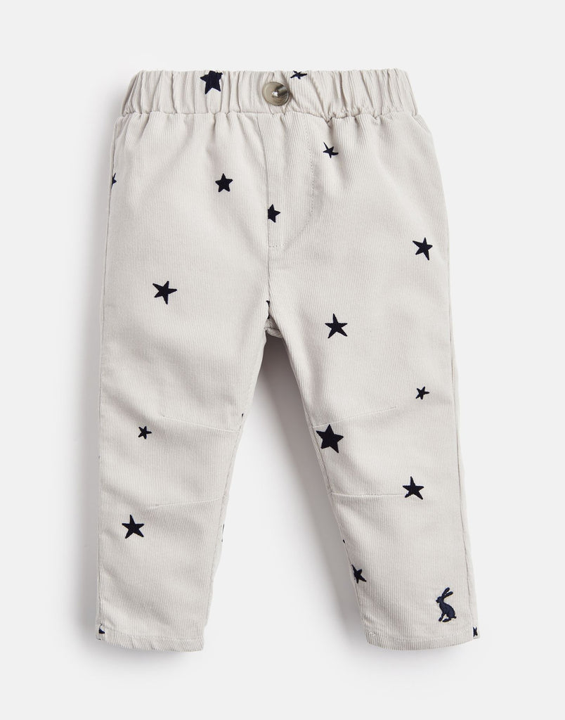 Morgan Corduroy Pant - Grey Star