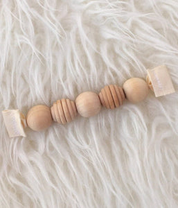 Wood Grasping Beads