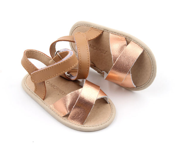 2 Toned Sandals - Phi Phi Rose