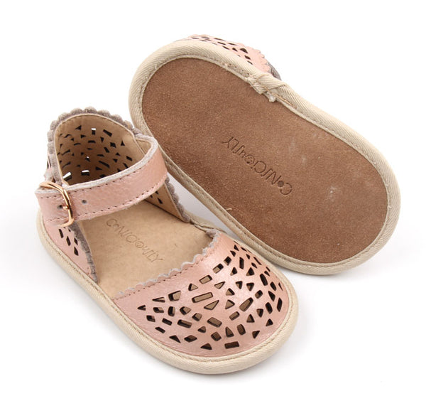Pocket Sandals - Bellagio Pink