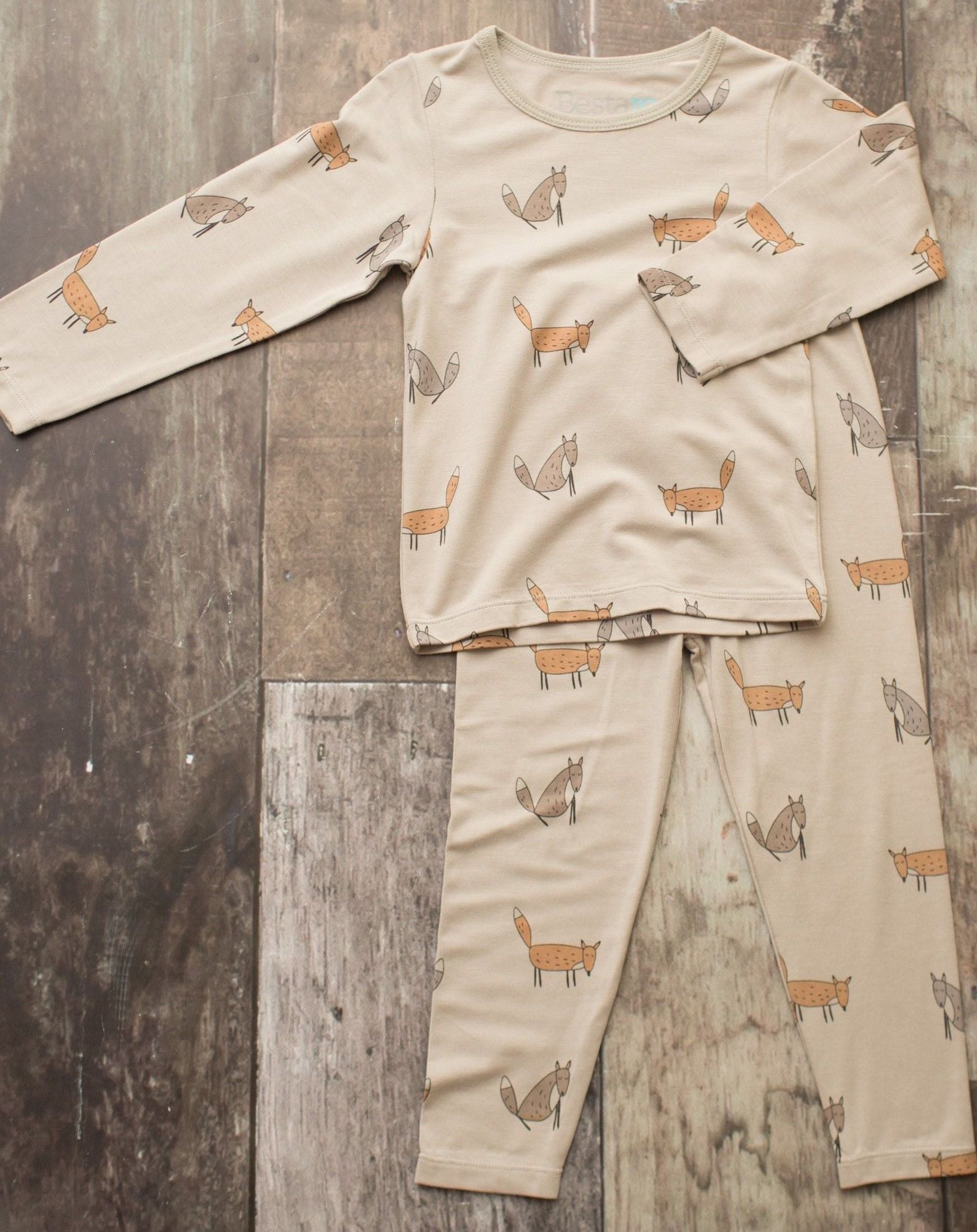 Fox Pajama Set