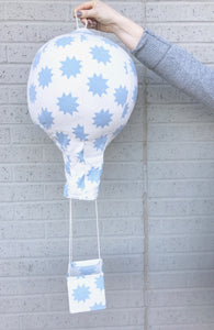 Hot Air Balloon Mobile - Blue Star