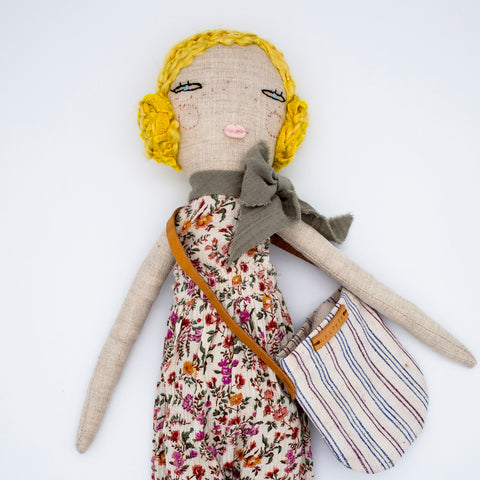 Handmade Heirloom Doll - Hannah