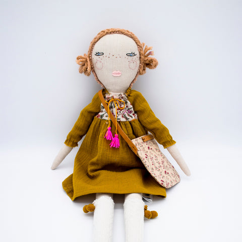Handmade Heirloom Doll - Hazel