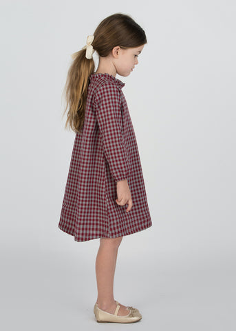 Christmas Gingham Dress