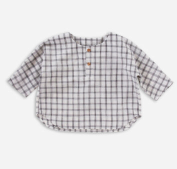 Monty Shirt - Cream Check