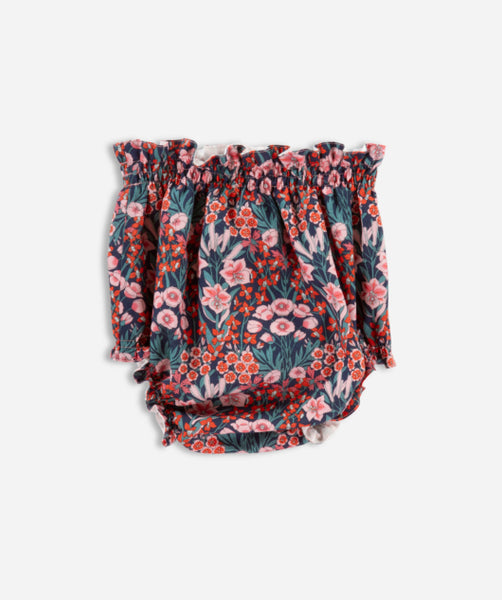 Orla Set - Red/Green Floral