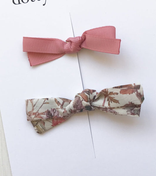 Florence Ribbon Clip Set