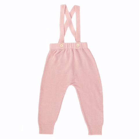 Basil Cashmere Romper - Dusty Rose