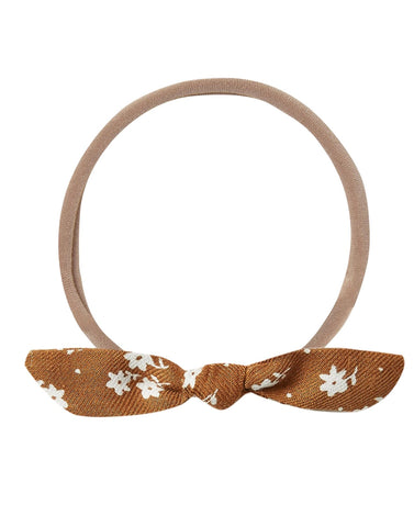 Little Knot Headband - Cinnamon Ditsy