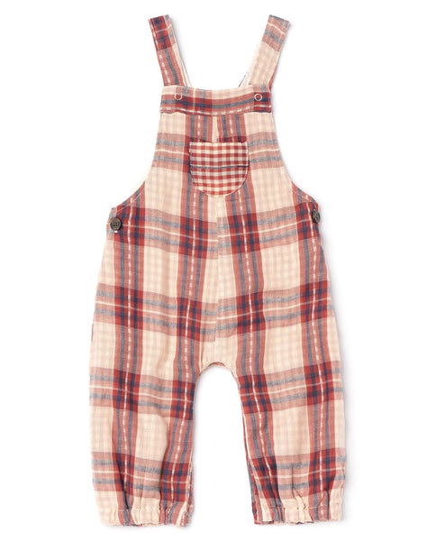 Nox Overalls - Red Chex