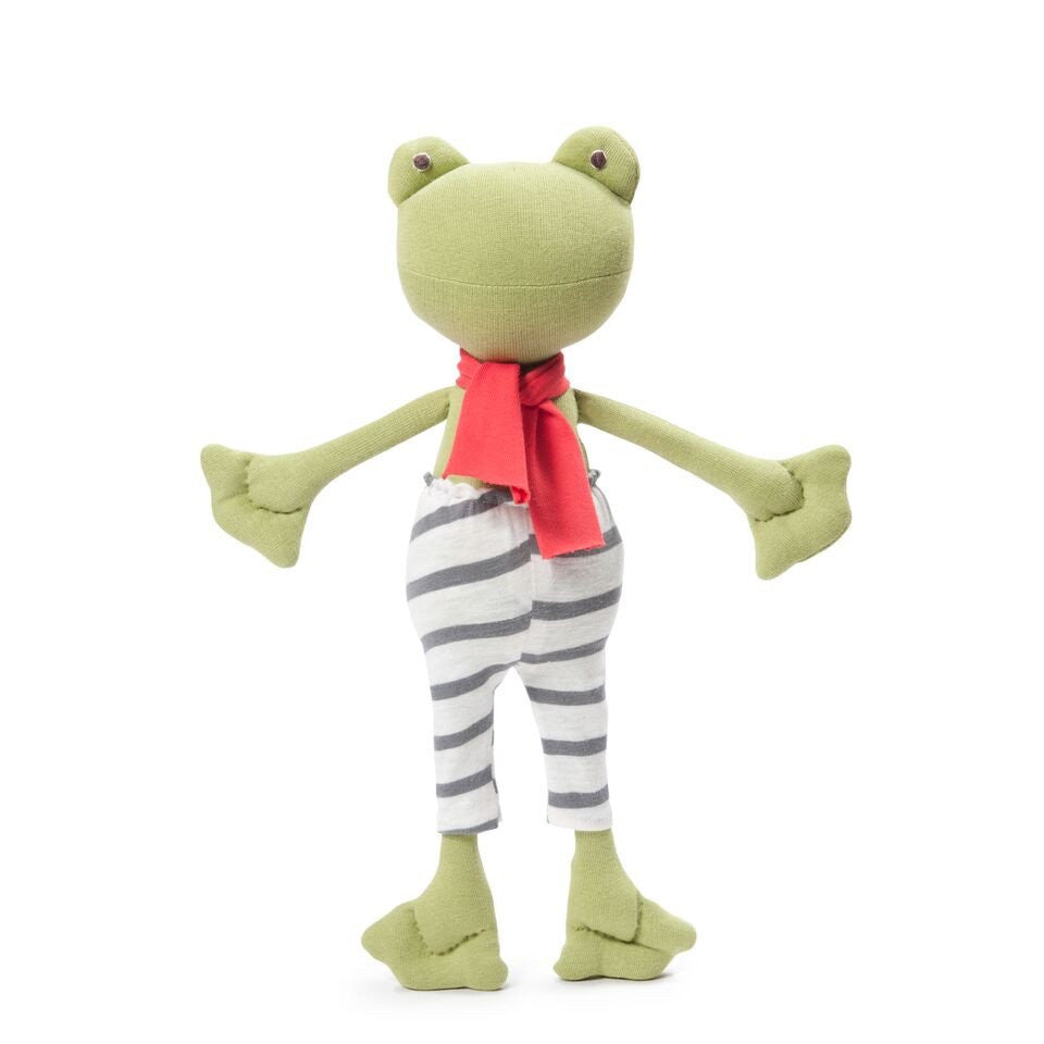 Lewis Toad in Striped Pants & Scarf