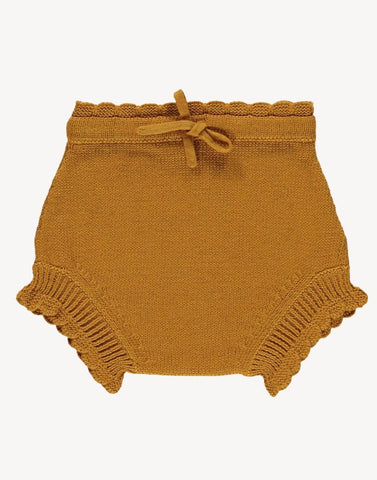 Knit Shortie Bloomer - Wheat