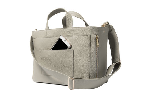 June Diaper Bag - Stone
