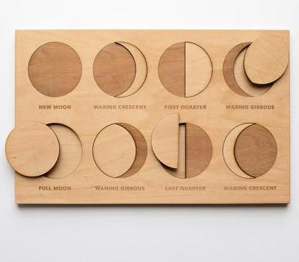 Moon Phase Puzzle