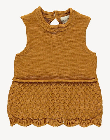 Knit Camisole - Wheat