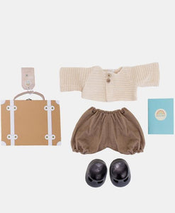 Dinkum Doll Travel Togs - Rust