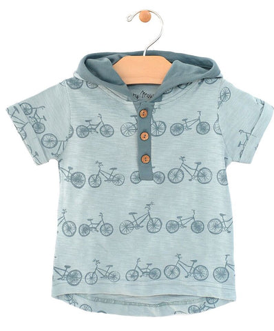 Bikes Hooded Henley