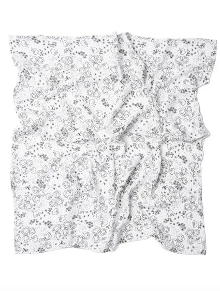 Bunnies Muslin Swaddle