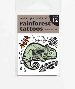 Rainforest Temporary Tattoos