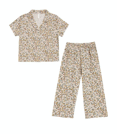 Light Floral Pajama Set