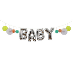 BABY Balloon Garland Kit
