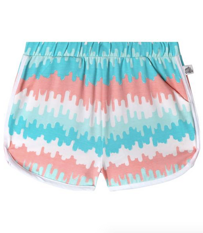 Jillian Shorts - Wave Stripe