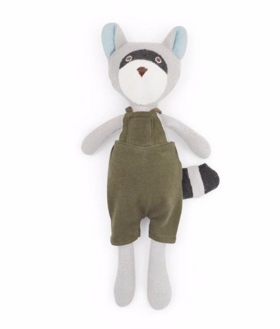Max Raccoon - Adventure Romper