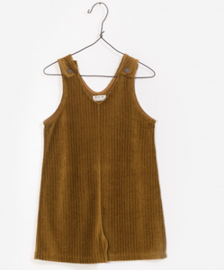 Corduroy V-Neck Jumpsuit