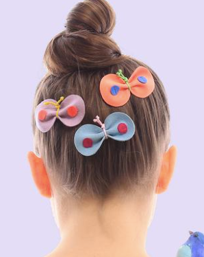 Butterfly Clip - Blue