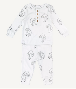 Sloth PJ Set