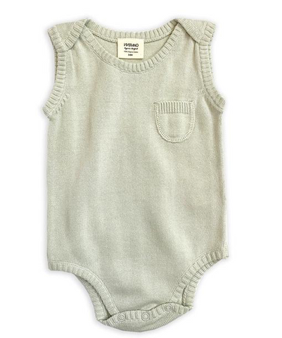 Milan Knit Bodysuit - Sweet Pea