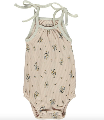 Bubble Tie Onesie - Pretty in Floral