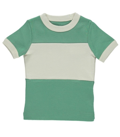 Vintage Tee - School House Green