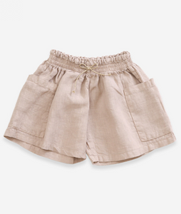 Jute Pocket Short