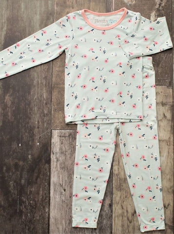 Spring Bloom Pajama Set