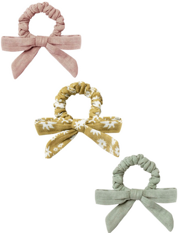 Little Bow Scrunchie Set - all colors