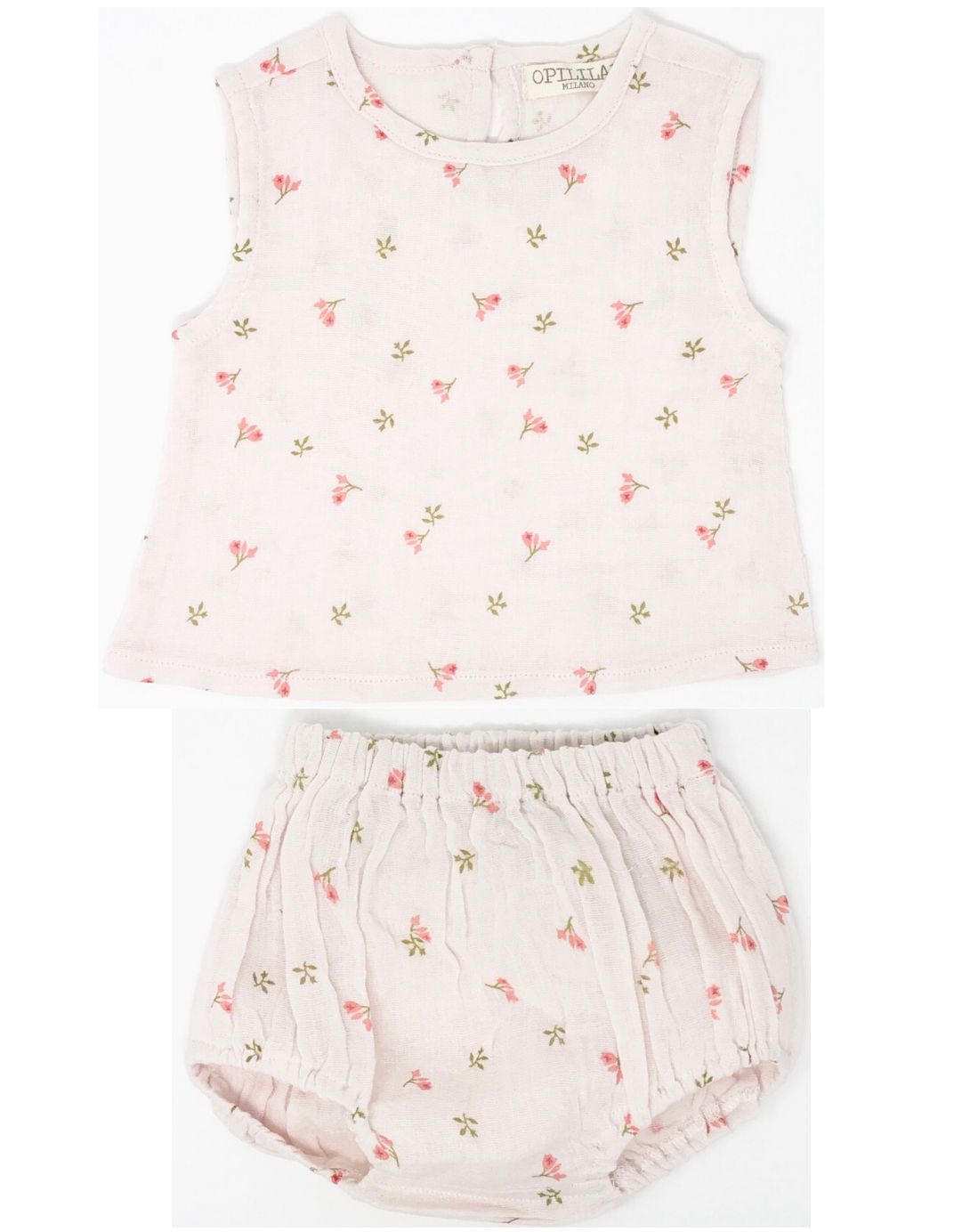 Tulip Sleeveless Top and Bloomer Set