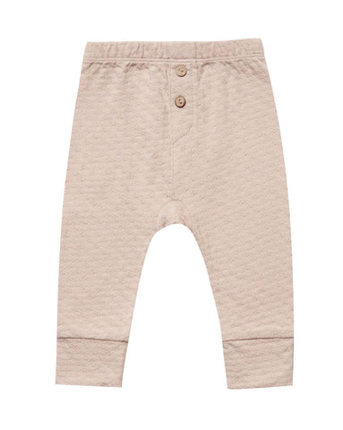 Pointelle Pant - Rose