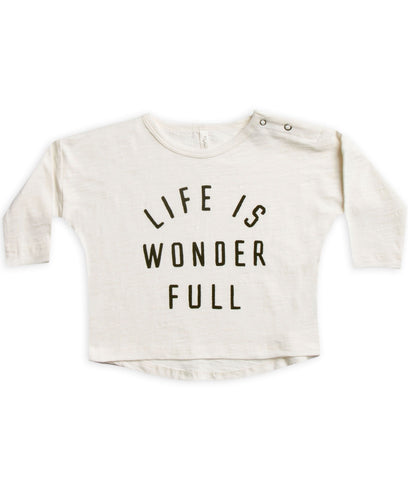 Life is Wonder Full Longsleeve Tee