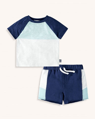 Color Blocked Set- baby boy