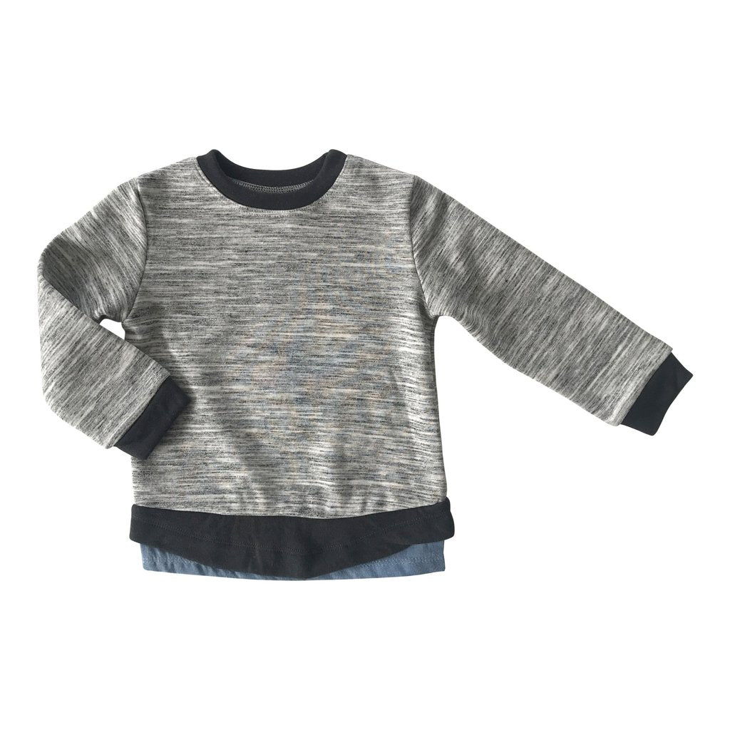 Dexter Top - Heather Grey