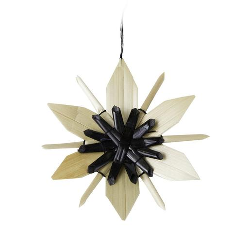 Scandi Star Ornament