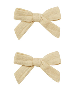 Butter Bow with Clip Set