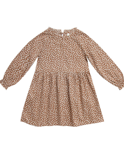 Caramel Ditsy Janie Dress