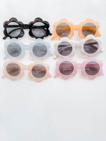 Retro Flower Big Girl Sunnies