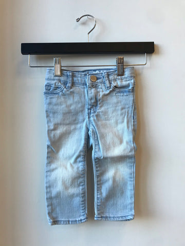GAP jeans light wash // size 6-12mo // EUC