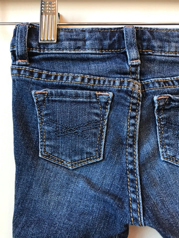 GAP jeans medium wash // size 6-12mo // EUC